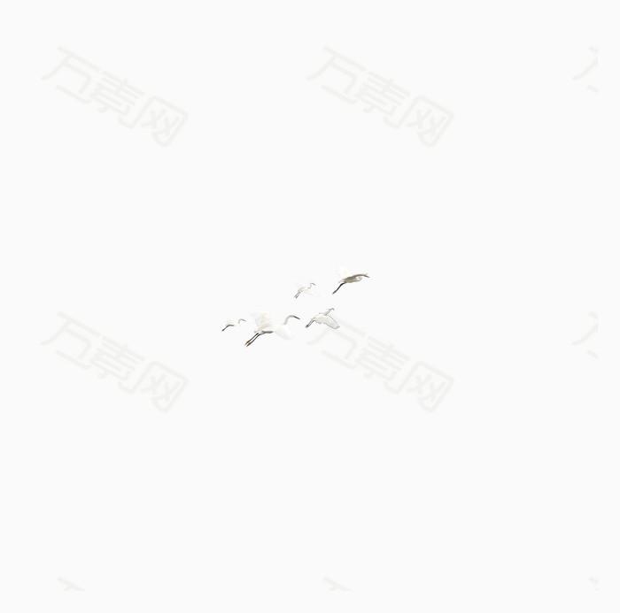 万素网 免抠元素 装饰元素 白鹤  万素网提供白鹤png设计素材,背景