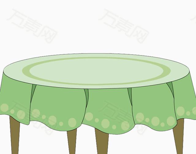 圆形的桌子卡通手绘  1660 万素网提供圆形的桌子卡通手绘png设计素材