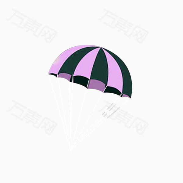 卡通降落伞图片免费下载_卡通手绘_万素网
