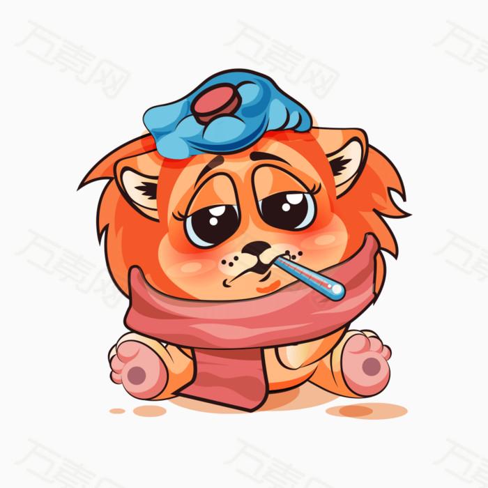 卡通狮子表情包图片免费下载_卡通手绘_万素网
