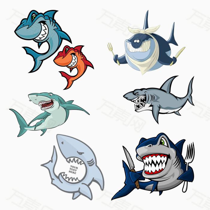 凶狠的鲨鱼免费下载   牙齿  海底  海洋  水底 动物