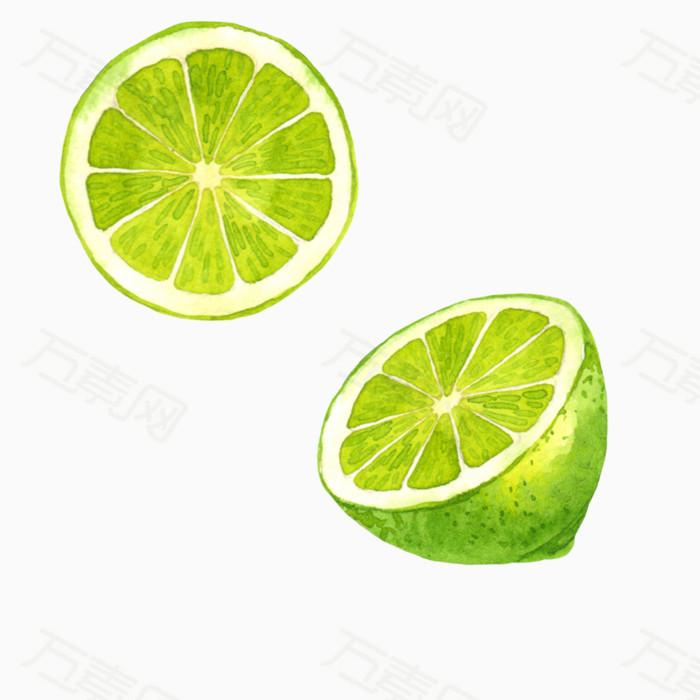 青柠檬图片免费下载_卡通手绘_万素网