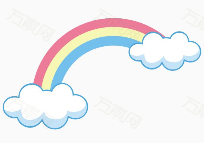 云朵上的彩虹