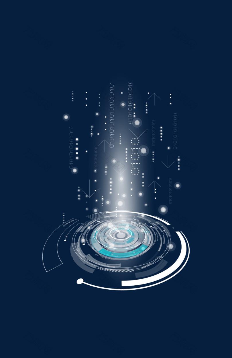 科技创意抽象光圈