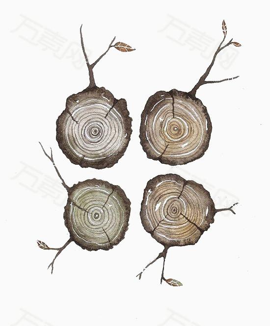 木桩图片免费下载_卡通手绘_万素网