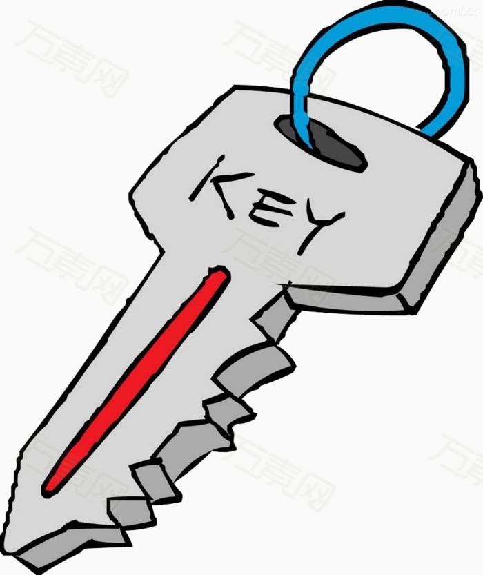 动漫钥匙简笔画