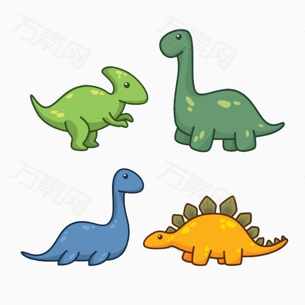 可爱手绘恐龙图片