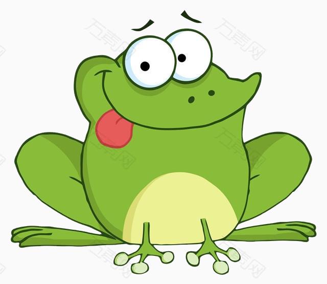 卡通手绘青蛙
