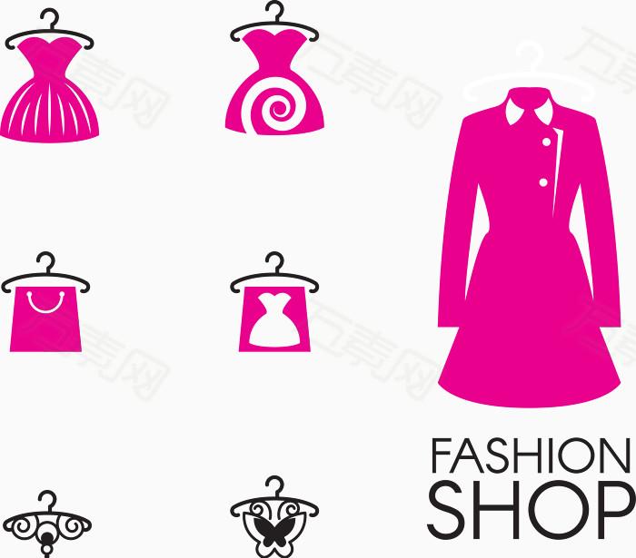 女装logo矢量图
