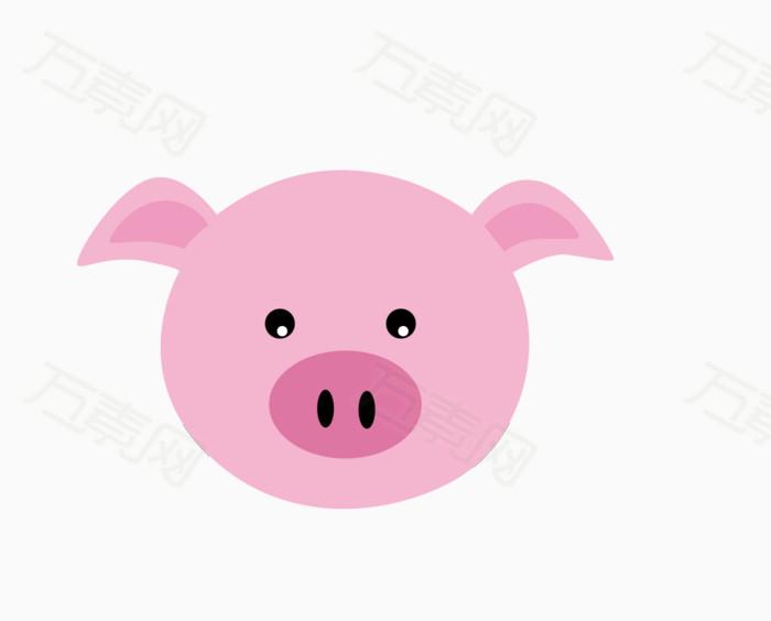 猪头亲亲图片可爱