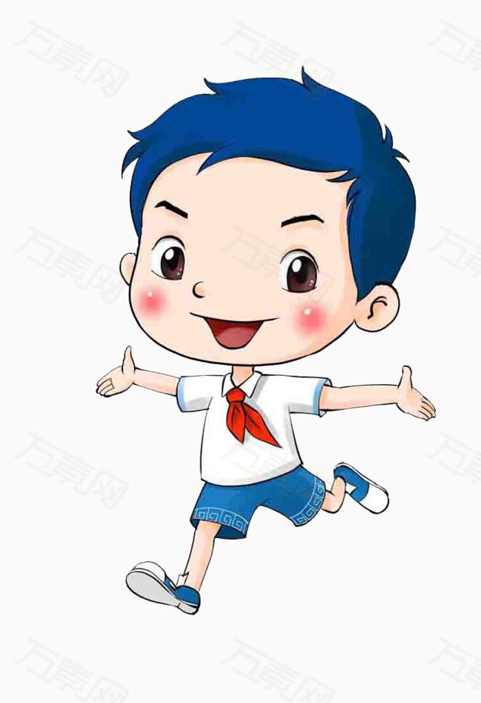素材分类 卡通小男孩  9226                           提示: 素材预