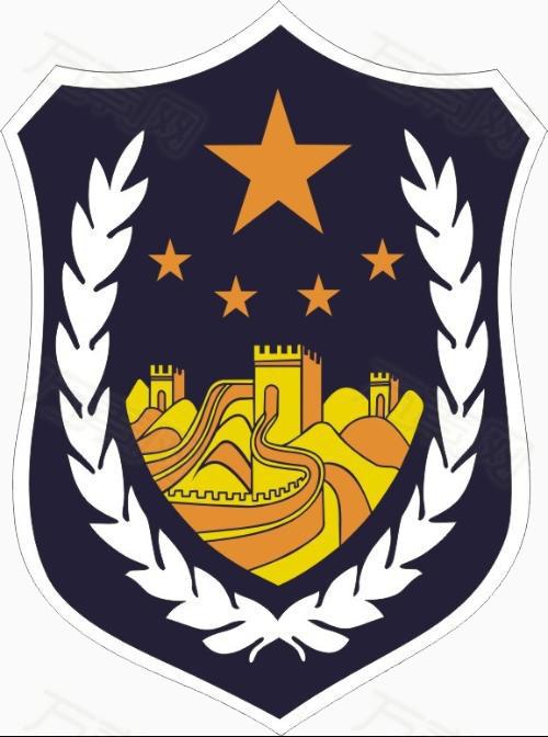 警徽 警察 标志 图标 卡通