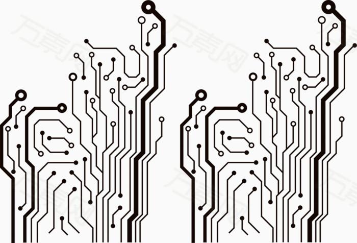万素网 素材分类 电路板  1810 万素网提供电路板png设计素材,背景