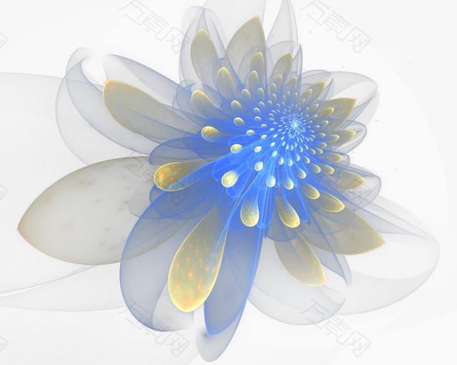 花朵高光效果