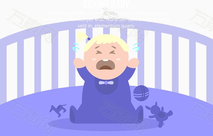 装饰元素 新生儿小表情  万素网提供新生儿小表情png设计素材,背景