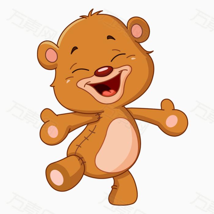 卡通小熊 小熊 可爱小熊 卡通动物