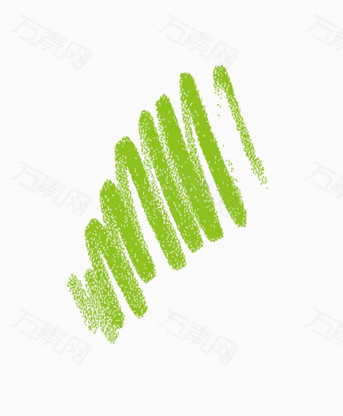 万素网 素材分类 涂抹效果水彩笔  6521