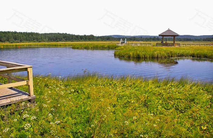著名景点 旅游景区 内蒙古七星湖 著名七星湖风景