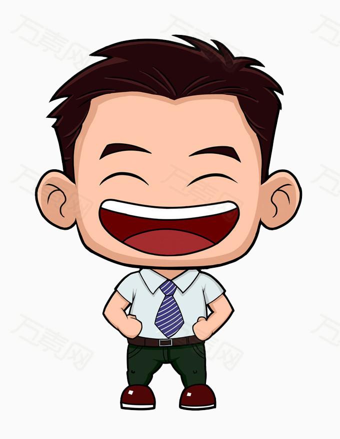 简单男生素��i-9`�_卡通男孩 男生 大头 帅气图片免费下载_卡通手绘_万素