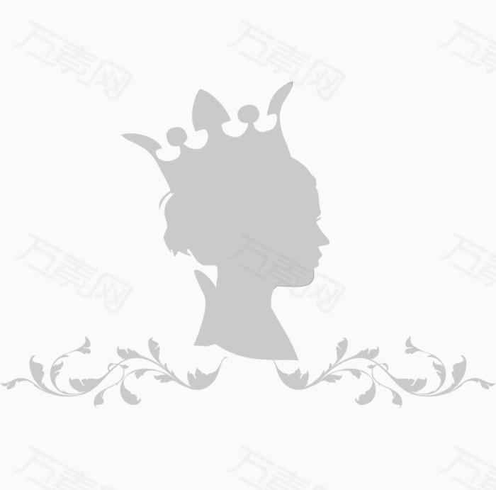 女王手绘素材