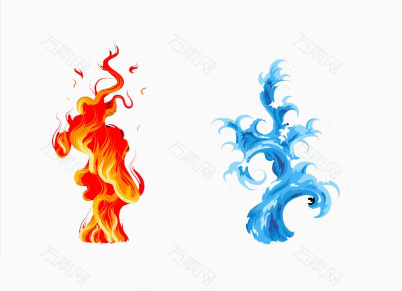 水火相融图片