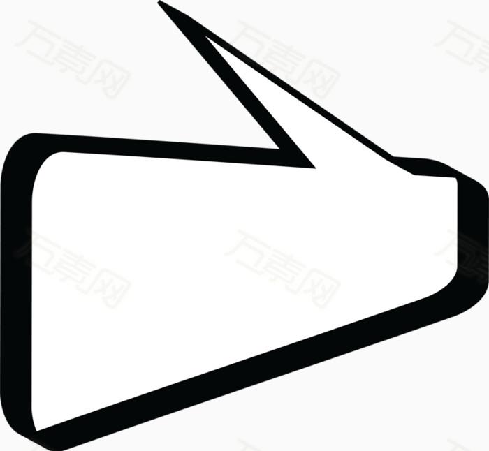 对话框 图标 边框 标签 黑白