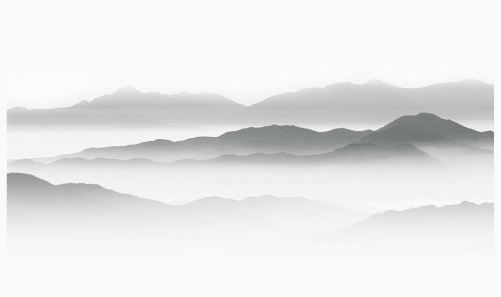 中国风水墨山水