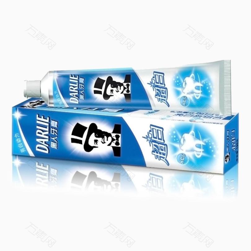 黑人牙膏实物装饰免费素材 的相关推荐