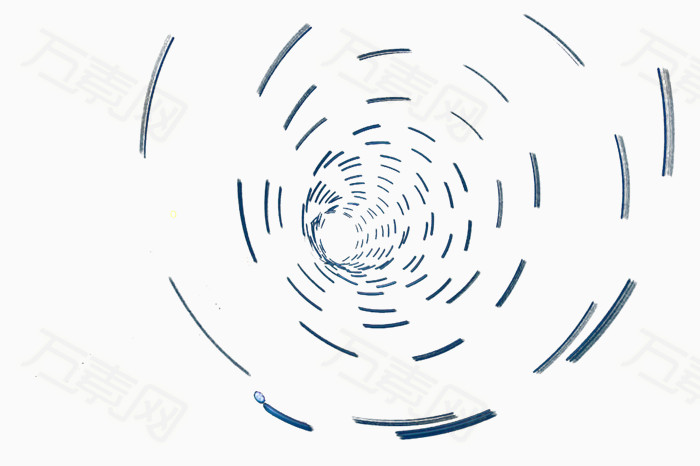 手绘怎么画漩涡