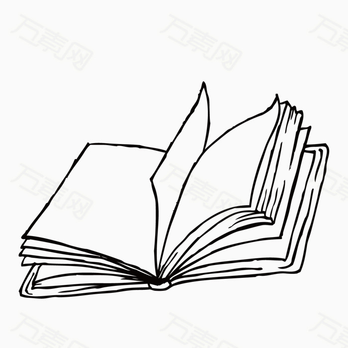 手绘学习用品