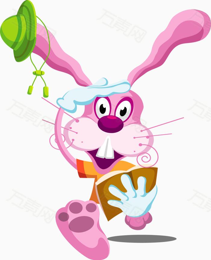 看书的兔子