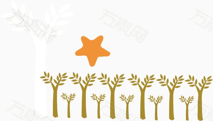 小树苗素材                 万素网提供小树苗素材png设计图片