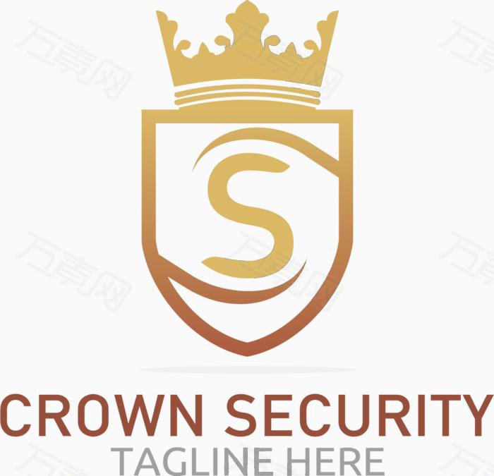 皇冠 标志设计 logo设计 安全保险 矢量素材