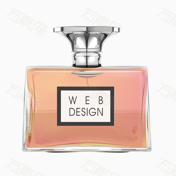 手绘香水瓶