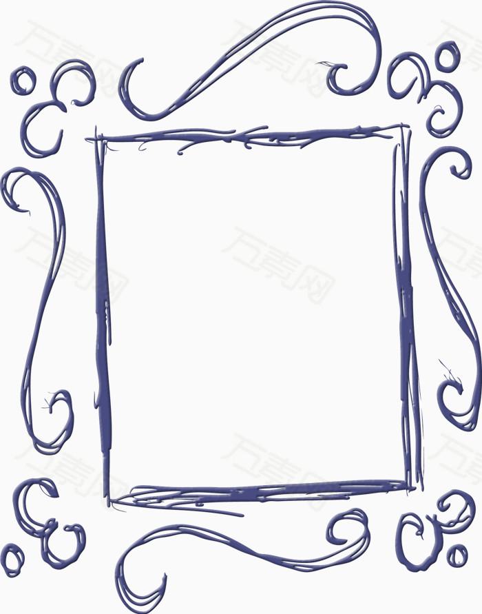 卡通手绘边框