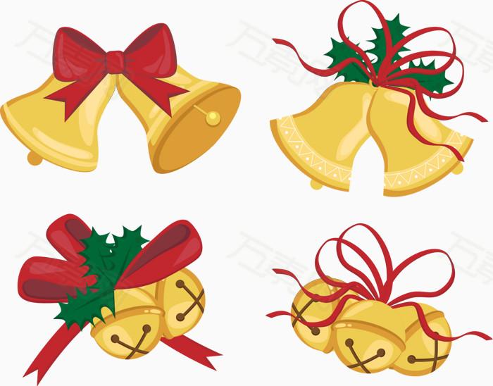 圣诞元素 圣诞节 圣诞 矢量圣诞素材 圣诞图片 矢量铃铛