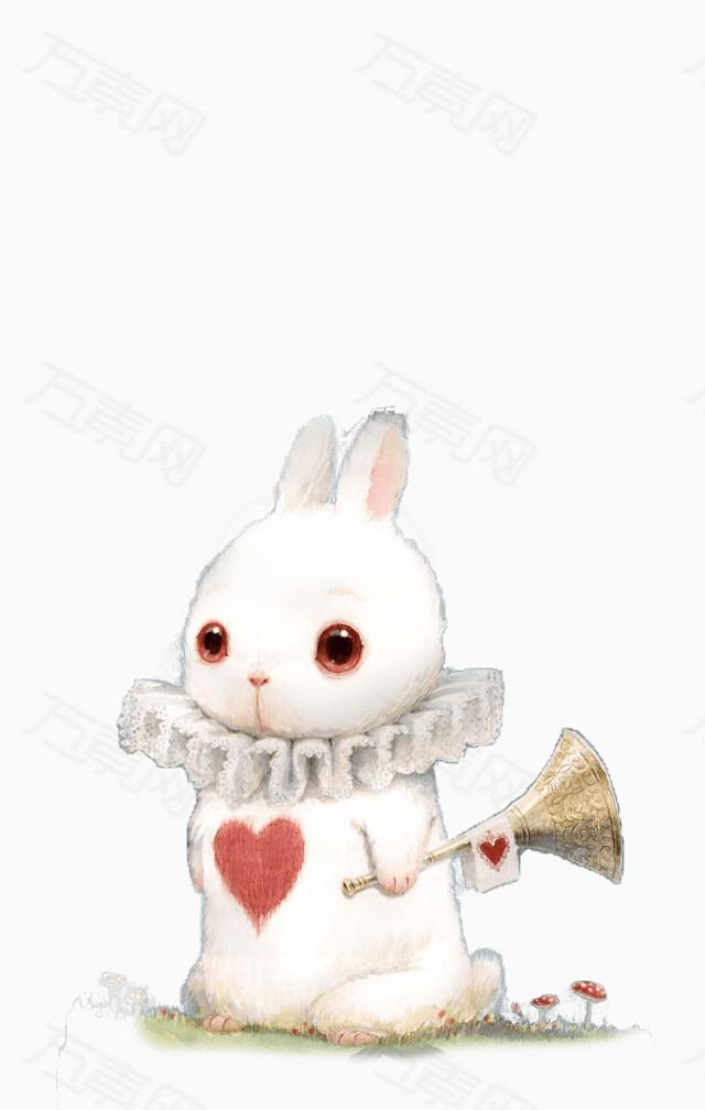 万素网 素材分类 卡通小白兔  1015 万素网提供卡通小白兔png设计素材图片