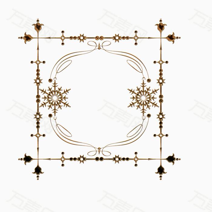 万素网 素材分类 正方形边框