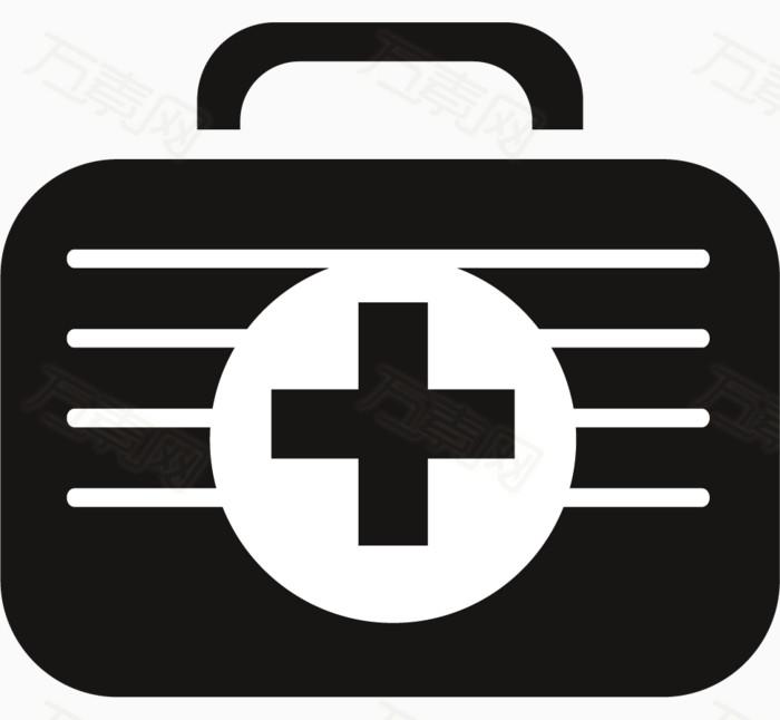 万素网 素材分类 黑色救护箱图标  10036 万素网提供黑色救护箱图标