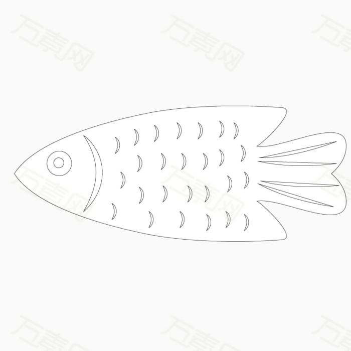 海底动物 线描稿