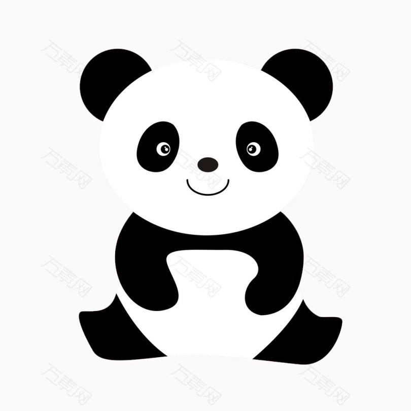 简笔画小熊猫