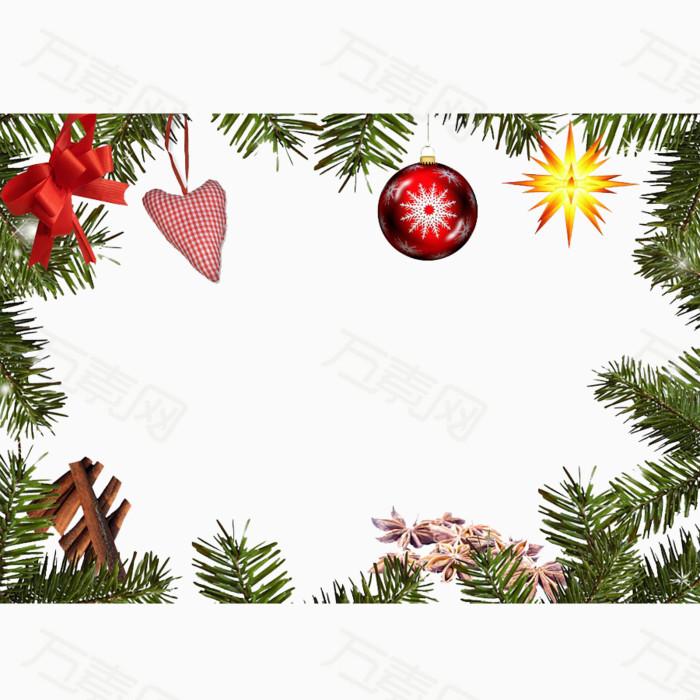 圣诞节海报设计背景免抠图