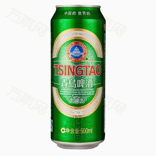 易拉罐青岛啤酒