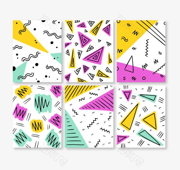 角形装饰卡片