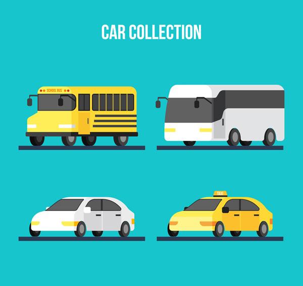 创意车辆设计矢量