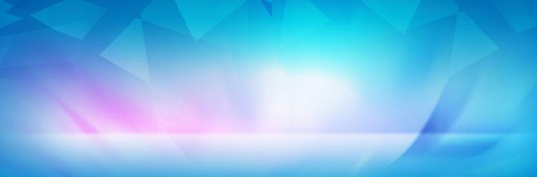 唯美蓝色背景