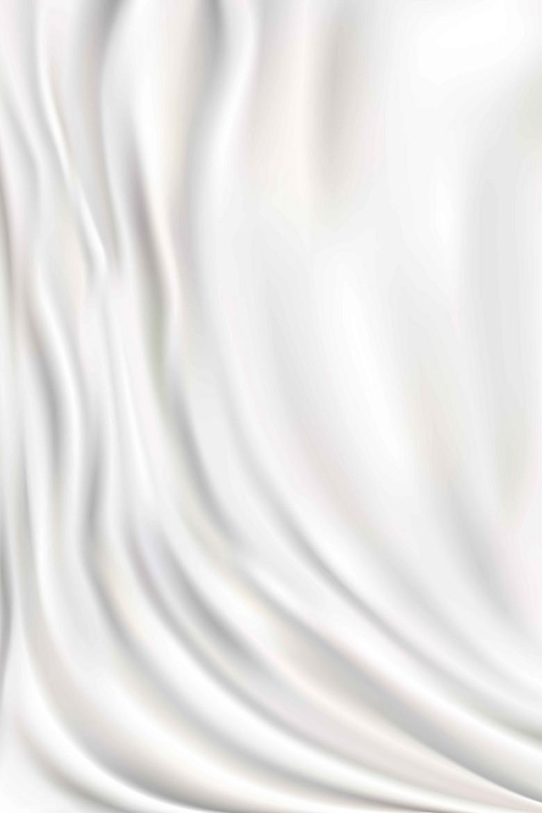 丝绸白色简约大气背景