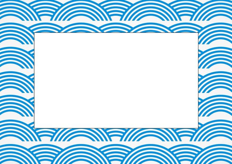 水纹底纹海报背景矢量素材