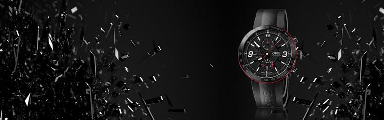 黑色动感手表简约黑色banner