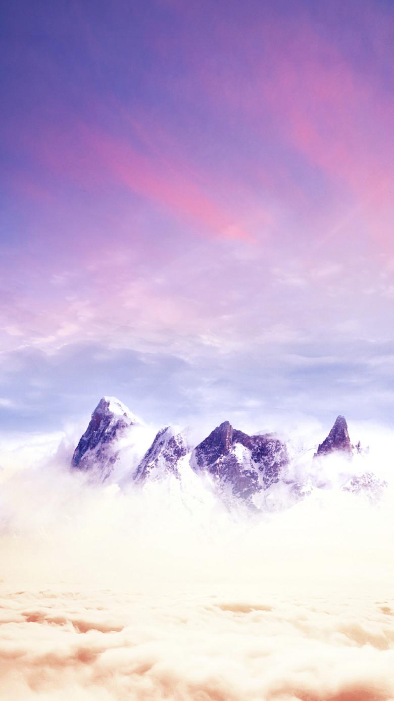 云层之上梦幻背景PSD分层H5背景